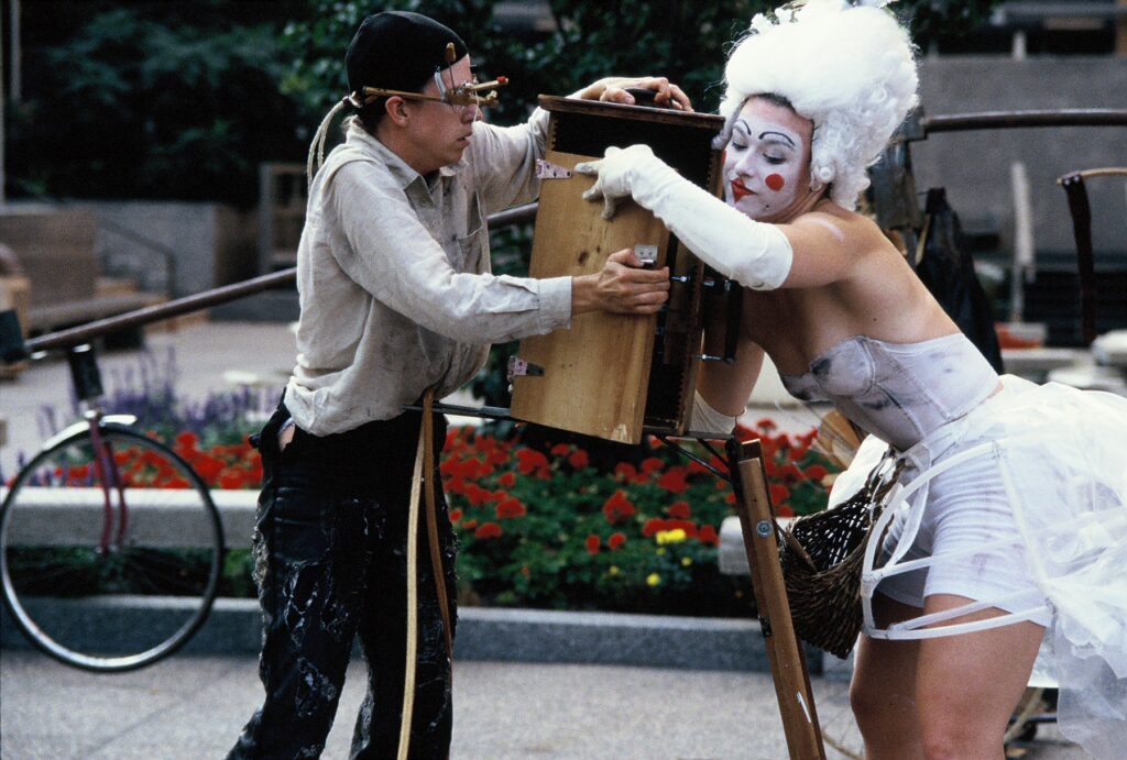 The Eye in the Door by Charles Campbell and Steve Epley, August 1999 - photos street performers