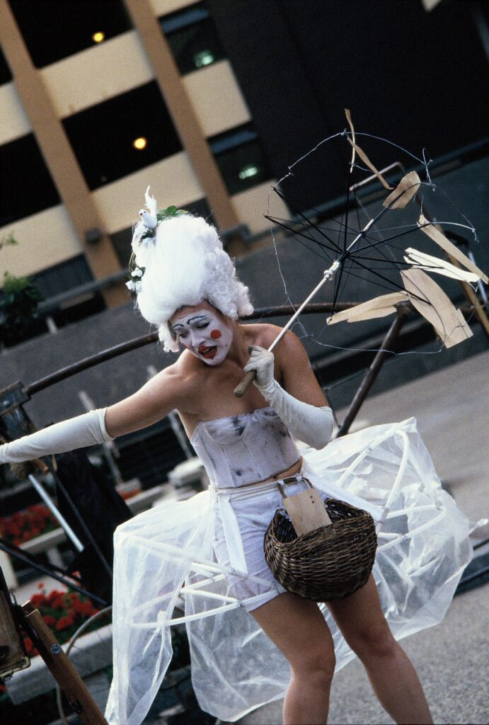 The Eye in the Door by Charles Campbell and Steve Epley, August 1999- photos street performers