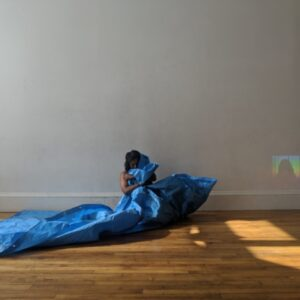 Blue and Brown - April 2019 - is an intimate exploration with film/video, tarp, and soil. Chitra Vairavan will journey with you through body, spirit and presence. Come be with her for a while.