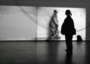 Photo from Jasper Johns: GRAY (2008) - photo in shades of gray