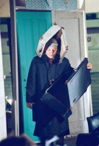 OG-SuitcaseWoman - - by Gülgün Kayim 2003