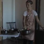 Culinary Presentation: Dinner Exchange Americana by Sandra Teitge. - June 2014