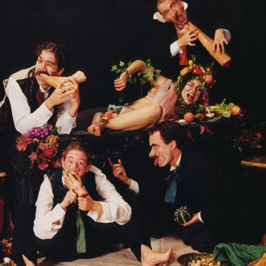 The Eye in the Door pt2 - by Gülgün Kayim, August 1998 - people devouring parts of human bodies